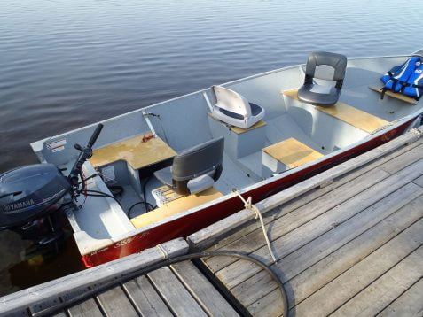 16' Lunds Boats with 4 Stroke Motors