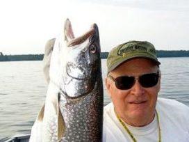Rich Lake Trout Catch
