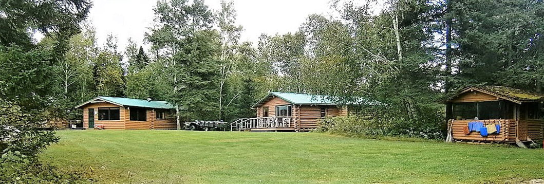 Three of the Rowdy Lake Cabins
